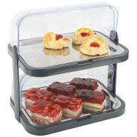 Купить витрина для сервировки с охлаждением 440x320*h-440мм 871812 недорого.