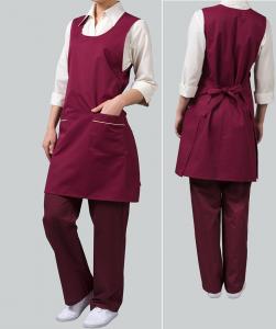 Купить Фартук продавца 80х60см ткань саржа х/б 20% пэ 80%,пл. 205г/м мод.10