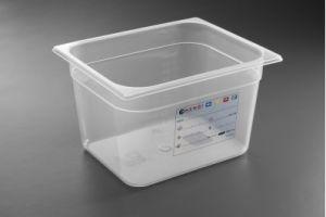 Купить Гастроемкость прозрачная из полипропилена GN1/2 325х265х150мм 9,5л Hendi 880166