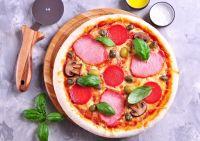 Купить Доска деревянная для пиццы d-450х22мм дуб
