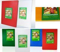 Купить Доска разделочная пластиковая 450*300*12 мм красная, белая, желтая, зеленая, синяя 180-94