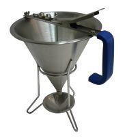 Купить Дозатор-наполнитель ручной для соусов и кремов на 3 наконечника 1,5л d-190xh-220мм 551806