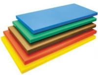 Купить Доска разделочная цветная 600*400*20 мм зеленая, желтая, коричневая Durplastics 60402