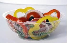 Купить Контейнер одноразовый для салатов 700мл d-15.6*h-5.5 см 700шт/ящ 750HF