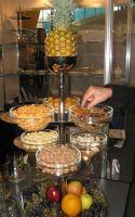 Купить Подставка фуршетная 2-х ярусная для 6 салатников d-170мм №8