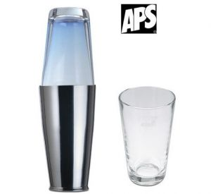 Купить Стакан стеклянный для шейкера Бостон d-85*h-145мм APS 93138