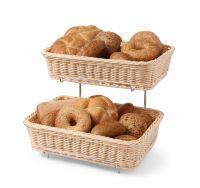 Купить Корзины для выпечки с 2-х ярусным стеллажом GN 1/2 360x280xh-90мм Hendi 561201