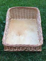 Купить Лоток плетенный из лозы со скосом на фанерном дне, любые размеры под заказ