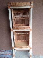 Купить Горка хлебная из лозы и дерева с багетницами 50*50*h-140-160см