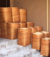Купить Корзина плетеная из лозы 300х300*h-600мм