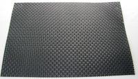 Купить Салфетка термостойкая пластиковая крупное плетение 45х30см черная 164-11