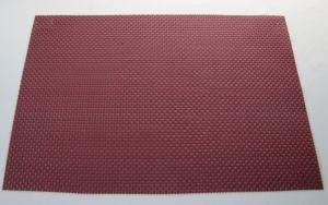 Купить Коврик для сервировки стола PVC 30х45см бордовый