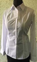 Купить Блузка классическая с длинным рукавом ткань Голландия 35%х/б*65%пэ пл. 117г/м2