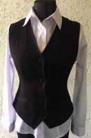 Купить жилет женский ткань - костюмная пл.240-300 г/м 70% пэ., 27% вис., 3% сп. недорого.