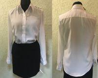 Купить Блузка классическая с длинным рукавом ткань креп 100%пэ пл. 120г/м2