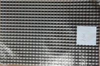 Купить Салфетка термостойкая пластиковая 45х30см черный/серебро 70-48