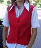 Купить Блузка для официанта комбинированная ткань сорочечная Tootal fabrics TR-065 35%х/б*65%пэ пл. 117г/м2