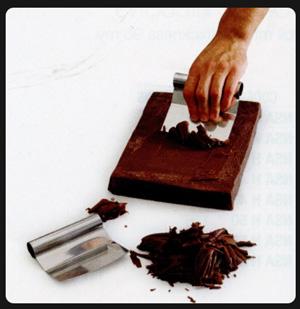 Купить Скребок для шоколада 120*115мм RC115