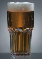 Купить Стакан для пива из поликарбоната 580мл d-89*h-162мм Granity 8571