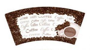 Купить Стакан бумажный с рисунком Кофе 175 мл 50 шт/уп Украина