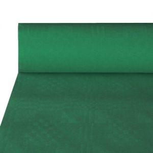 Купить Скатерть бумажная с тиснением 50м x 1.0м зеленая PapStar 12572