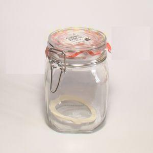 Купить Банка стеклянная Fido Vaso ermetico 1000мл Bormioli Rocco 1,49220