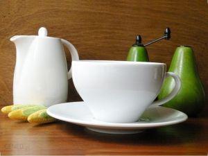 Купить Чашка чайная 280мл с блюдцем Paula 1790/1723