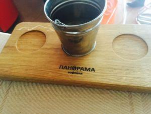 Купить Доска деревянная для подачи 350х160х20мм с выемками d-75мм