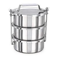 Купить контейнеры для транспортировки пищи (крышка без уплотнителя) 3шт х 3л 20x9x3см kapp 30632010 недорого.