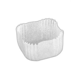 Купить Капсула бумажная для выпечки квадрат белая 350х350*h-170мм 2000 шт/уп