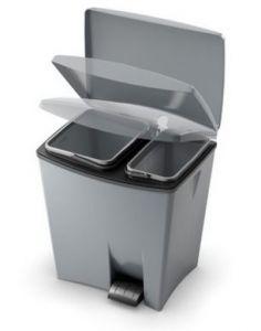 """Купить Контейнер для мусора двойной 20л+10л 290x390*h-430мм """"Duetto Bin"""""""