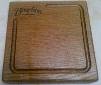 Купить Доска деревянная для подачи квадратная 15х15см с логотипом, дуб