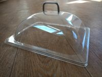 Купить крышка прозрачная для витрины из поликарбоната gn 1/2 330х268*170мм 8608 недорого.