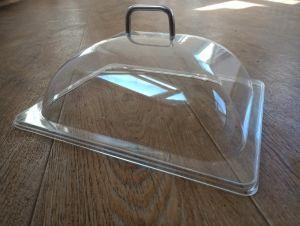 Купить Крышка прозрачная для витрины из поликарбоната GN 1/2 330х268*170мм 8608