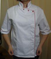 Купить Куртка поварская женская, тк. Элит -65%пэ/35%хл пл.165гр