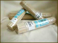 Купить палочки для шашлыка 250мм 100шт бамбук недорого.