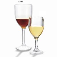 Купить Бокал из поликарбоната для красного вина 260мл d-77*h-189мм 8584