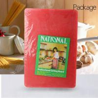 Купить доска разделочная пластиковая 600*400*12 мм красная, белая, желтая, зеленая, синяя, коричневая 188-33 недорого.
