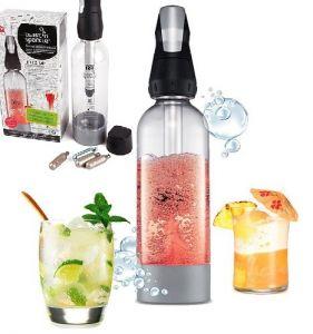 Купить Сифон для напитков и коктейлей 950мл 145х92х299 мм Twist'n Sparkle 100530