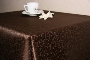 Купить Ткань Ричард мелкий завиток шир. 305см пл.238гр цвет 191020 шоколад 47% хлопок 53% п/э