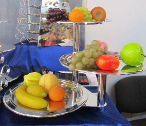 Купить Подставка фуршетная для фруктов 3-х ярусная 3шт*d-300 мм N 11А