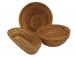 Фото Форма для расстойки хлеба овальная из лозы ~0,6кг L-280хB-125*h-70мм #4119