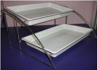 Купить подставка 2-х ярусная 370*490*360мм для блюд gn 1/2 недорого.