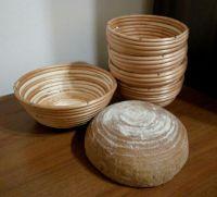 Купить форма для расстойки хлеба круглая из лозы ~0,8кг d-210*h-80мм недорого.