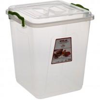 Купить Клипбокс ящик пластиковый 10л 250х250*h-280мм Senyayla Plastik 2654