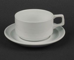 Купить Чашка чайная с блюдцем 280мл HR1328
