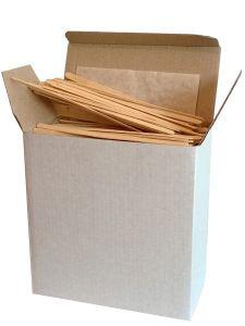 Купить Мешалки деревянные 14 см в картонной упаковке 1000 шт/уп