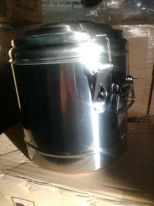 Купить Термоконтейнер с двойными стенками 6,5л d-250хh-250 мм