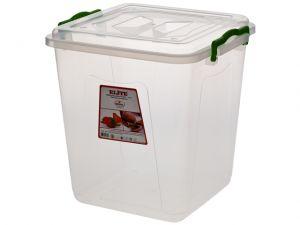 Купить Клипбокс ящик пластиковый глубокий 21л 300х300*h-365мм Senyayla Plastik 2658