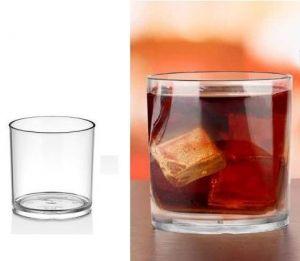 Купить Стакан для виски низкий из поликарбоната 280мл GastroPlast GC-35